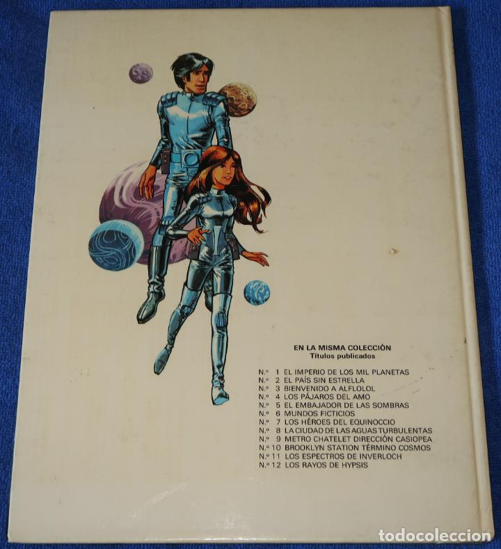 Cómics: Los rayos de Hypsis - Valerian - Agente espacio temporal nº 12 - Grijalbo (1986) - Foto 4 - 247016555