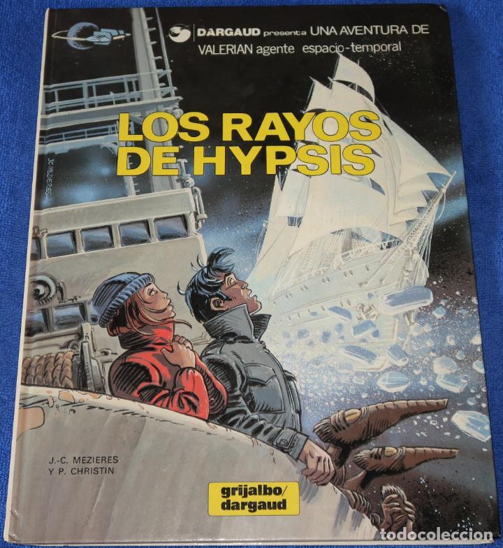 LOS RAYOS DE HYPSIS - VALERIAN - AGENTE ESPACIO TEMPORAL Nº 12 - GRIJALBO (1986) (Tebeos y Comics - Grijalbo - Valerian)