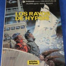 Cómics: LOS RAYOS DE HYPSIS - VALERIAN - AGENTE ESPACIO TEMPORAL Nº 12 - GRIJALBO (1986). Lote 247016555