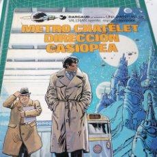 Fumetti: VALERIAN N. 9. METRO CHATELET DIRECCIÓN CASIOPEA. Lote 247163080