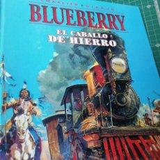 Comics: BLUEBERRY. EL CABALLO DE HIERRO.. Lote 247163980