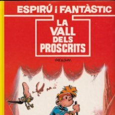 Fumetti: ESPIRÚ I FANTÁSTIC 27 - LA VALL DELS PROSCRITS - TOME I JANRY - ED. JUNIOR 1991. Lote 247184240