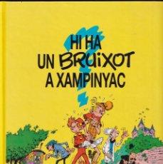 Cómics: ESPIRÚ I FANTÁSTIC 1 - HI HA UN BRUIXOT A XAMPINYAC - FRANQUIN - ED. JUNIOR 1993. Lote 247184930