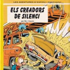Fumetti: ESPIRÚ I FANTÁSTIC 45 - ELS CREADORS DE SILENCI - NIC I CAUVIN - ED. JUNIOR 1996. Lote 247185765