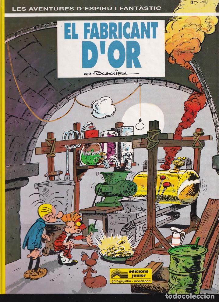 ESPIRÚ I FANTÁSTIC 33 - EL FABRICANT D'OR - FOURNIER - ED. JUNIOR 1993 (Tebeos y Comics - Grijalbo - Spirou)