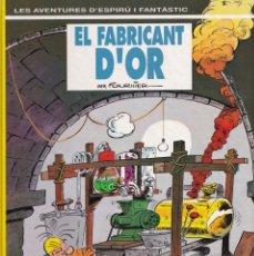Cómics: ESPIRÚ I FANTÁSTIC 33 - EL FABRICANT D'OR - FOURNIER - ED. JUNIOR 1993. Lote 247186320