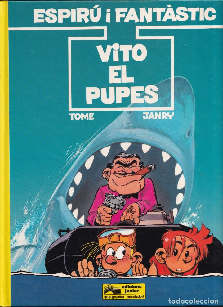 ESPIRÚ I FANTÁSTIC 29 - VITO EL PUPES - TOME I JANRY- ED. JUNIOR 1992 (Tebeos y Comics - Grijalbo - Spirou)