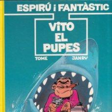 Cómics: ESPIRÚ I FANTÁSTIC 29 - VITO EL PUPES - TOME I JANRY- ED. JUNIOR 1992. Lote 247186815