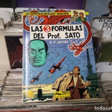 Comics : BLAKE & MORTIMER VOLUMEN 08: LAS 3 FORMULAS DEL PROFESOR SATO,. Lote 247187505