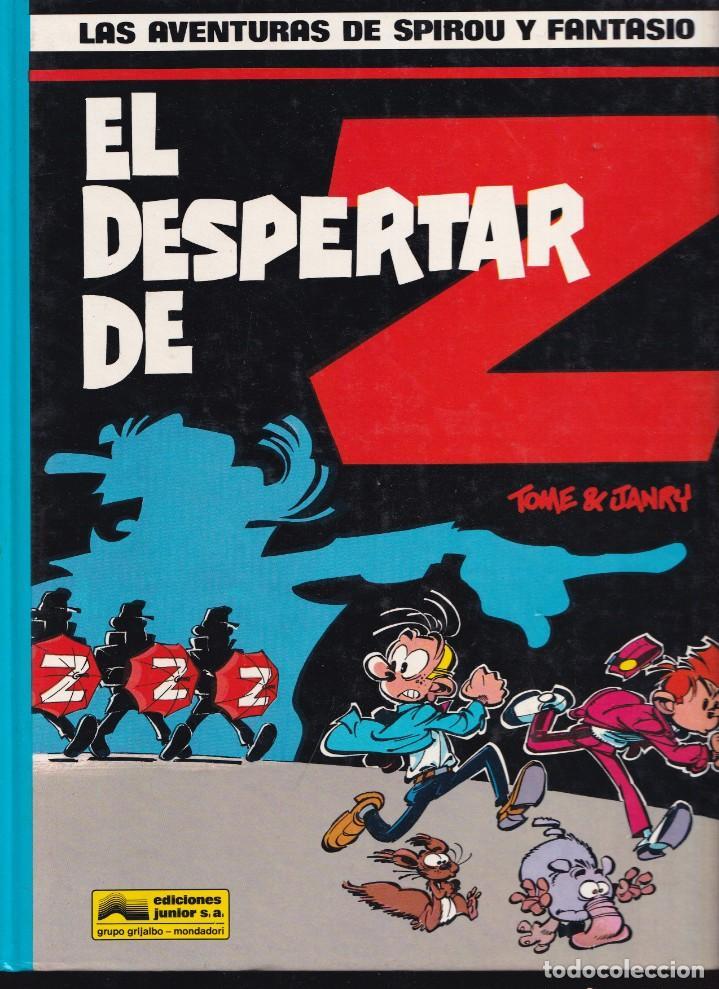 SPIROU Y FANTASIO 23 - EL DESPERTAR DE Z - TOME Y JANRY- ED. JUNIOR 1990 (Tebeos y Comics - Grijalbo - Spirou)