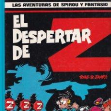 Cómics: SPIROU Y FANTASIO 23 - EL DESPERTAR DE Z - TOME Y JANRY- ED. JUNIOR 1990. Lote 247187585
