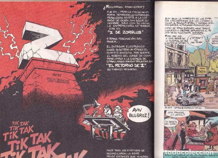Cómics: SPIROU Y FANTASIO 23 - EL DESPERTAR DE Z - TOME Y JANRY- ED. JUNIOR 1990 - Foto 2 - 247187585