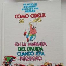 Comics: ASTERIX: COMO OBELIX CAYO EN LA MARMITA DEL DRUIDA CUANDO ERA PEQUEÑO. Lote 247271155