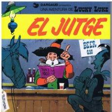 Comics: LUCKY LUKE - EL JUTGE - MORRIS - EN CATALÀ - GRIJALBO 1990. Lote 247474280
