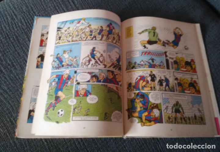 Cómics: LIBRO COMIC TAPA DURA FÚTBOL ERIC CASTEL PARTIDO DE VUELTA, EDICIONES JUNIOR GRUPO GRIJALBO AÑO 1979 - Foto 2 - 247579620