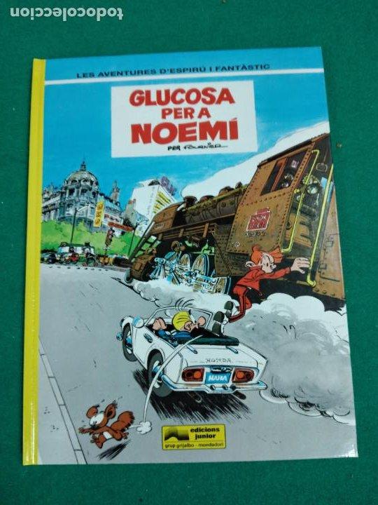 LES AVENTURES D'ESPIRU I FANTASTIC Nº 34. GLUCOSA PER A NOEMI. EDICIONS JUNIOR 1993. (Tebeos y Comics - Grijalbo - Spirou)