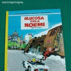Cómics: LES AVENTURES D'ESPIRU I FANTASTIC Nº 34. GLUCOSA PER A NOEMI. EDICIONS JUNIOR 1993.. Lote 247950230