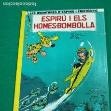 Cómics: LES AVENTURES D'ESPIRU I FANTASTIC Nº 13. ESPIRU I ELS HOMES-BOMBOLLA. EDICIONS JUNIOR 1989.. Lote 247962840