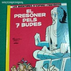 Cómics: LES AVENTURES D'ESPIRU I FANTASTIC Nº 12. EL PRESONER DELS 7 BUDES. EDICIONS JUNIOR 1990.. Lote 247966655