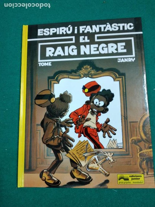 ESPIRU I FANTASTIC Nº 32. EL RAIG NEGRE. TOME-JANRY. EDICIONS JUNIOR 1993. (Tebeos y Comics - Grijalbo - Spirou)