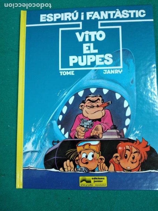 ESPIRU I FANTASTIC Nº 29.TOME-JANRY.VITO EL PUPES. EDICIONS JUNIOR 1992. (Tebeos y Comics - Grijalbo - Spirou)