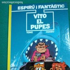 Cómics: ESPIRU I FANTASTIC Nº 29.TOME-JANRY.VITO EL PUPES. EDICIONS JUNIOR 1992.. Lote 247969045