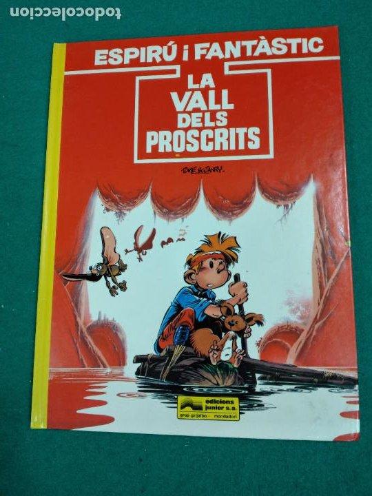 ESPIRU I FANTASTIC Nº 27.TOME-JANRY-VITO LA VALL DELS PROSCRITS. EDICIONS JUNIOR (Tebeos y Comics - Grijalbo - Spirou)