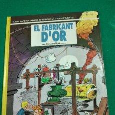 Cómics: LES AVENTURES D'ESPIRU I FANTASTIC Nº 33. EL FABRICANT D'OR. EDICIONS JUNIOR 1993.. Lote 248148500