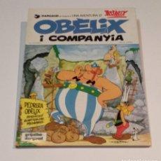 Cómics: LAS AVENTURAS DE ASTÉRIX - OBÈLIX I COMPANYIA EN CATALAN - GRIJALBO - DARGAUD 1980. Lote 248309900