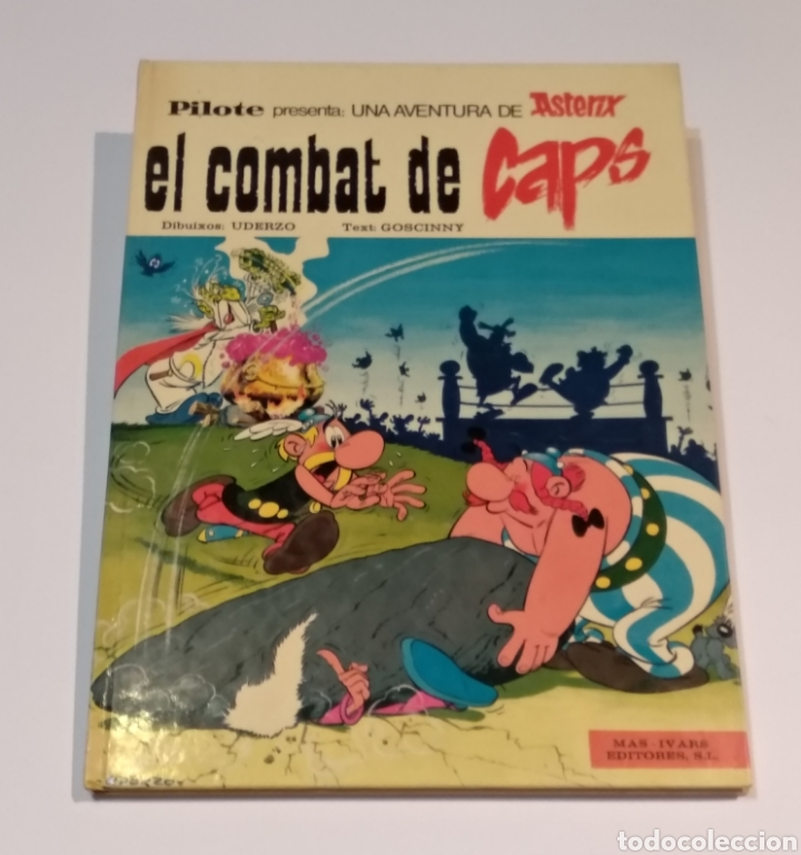 LAS AVENTURAS DE ASTÉRIX - EL COMBAT DE CAPS - EN CATALAN - MAS IVARS EDITORES 1976 (Tebeos y Comics - Grijalbo - Asterix)