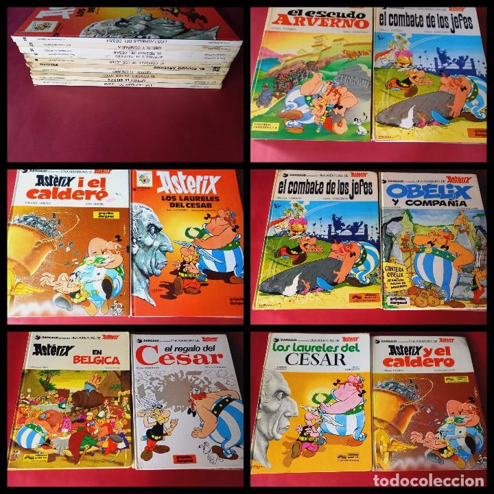 LOTE DE 10 -ASTERIX Y OBELIX -FOTOS DE TODOS-PORTES CERTIFICADO 5,50 EUROS PENINSULA (Tebeos y Comics - Grijalbo - Asterix)
