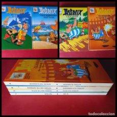 Comics: LOTE DE 4 ASTERIX ESPAÑOL/ INGLES. Lote 248436770