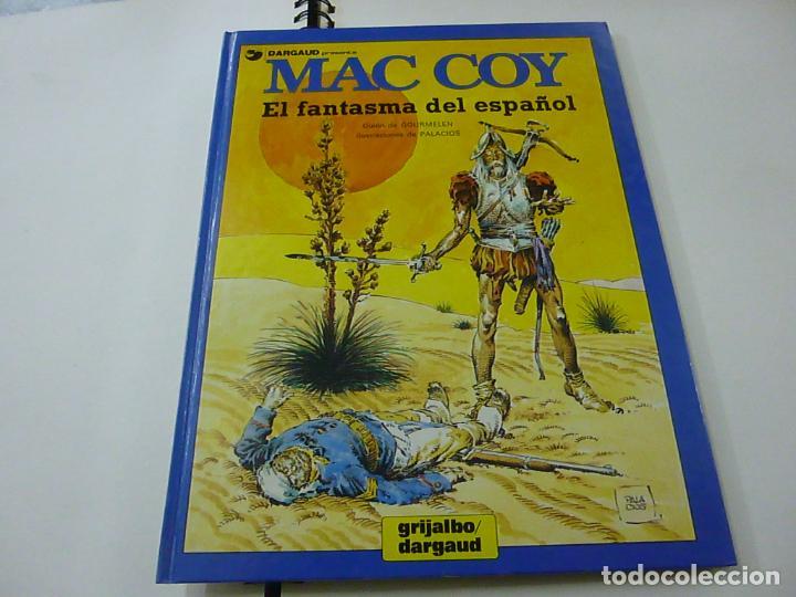 MAC COY EL FANTASMA DEL ESPAÑOL - GOURMELEN/PALACIOS -N 4 (Tebeos y Comics - Grijalbo - Mac Coy)