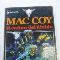 Fumetti: MAC COY . Nº 9 EL CAÑON DEL DIABLO EDICION (GRIJALBO / DARGAUD ) HERNADEZ PALACIOS 1982. Lote 249102865