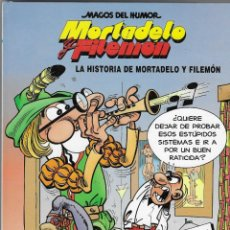 Fumetti: MAGOS DEL HUMOR -- N.º 15 LA HISTORIA DE MORTADELO Y FILEMÓN. Lote 249122025