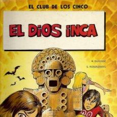 Comics : 3 COMIC EDICIONES JUNIOR EL CLUB DE LOS CINCO Nº 2 - 3 - 4 SERGE ROSENZWEIG Y BERNARD DUFOSSE. Lote 249203245