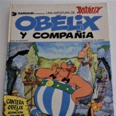 Cómics: ASTERIX Y OBELIX - ÓBELIX Y COMPAÑÍA - GRIJALBO/DARGAUD S.A. - AÑO 1980. Lote 249519035