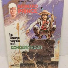 "Cómics: COMIC BERNARD PRINCE Nº8 ""LA LLAMA VERDE DEL CONQUISTADOR"" DE HERMANN Y GREG (1992). Lote 250128625"
