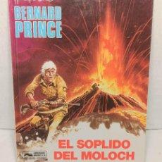 """Cómics: COMIC BERNARD PRINCE Nº10 """"EL SOPLIDO DEL MOLOCH"""" DE HERMANN Y GREG (1992). Lote 250134830"""