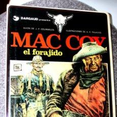 Cómics: MAC COY Nº 12 : EL FORAJIDO (DE GOURMELEN & ANTONIO HERNANDEZ PALACIOS ). Lote 250327815