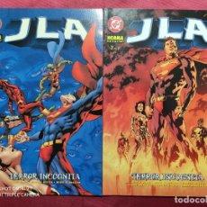 Comics: JLA. TERROR INCOGNITA. COLECCION COMPLETA. 2 TOMOS . NORMA EDITORIAL. Lote 251094400