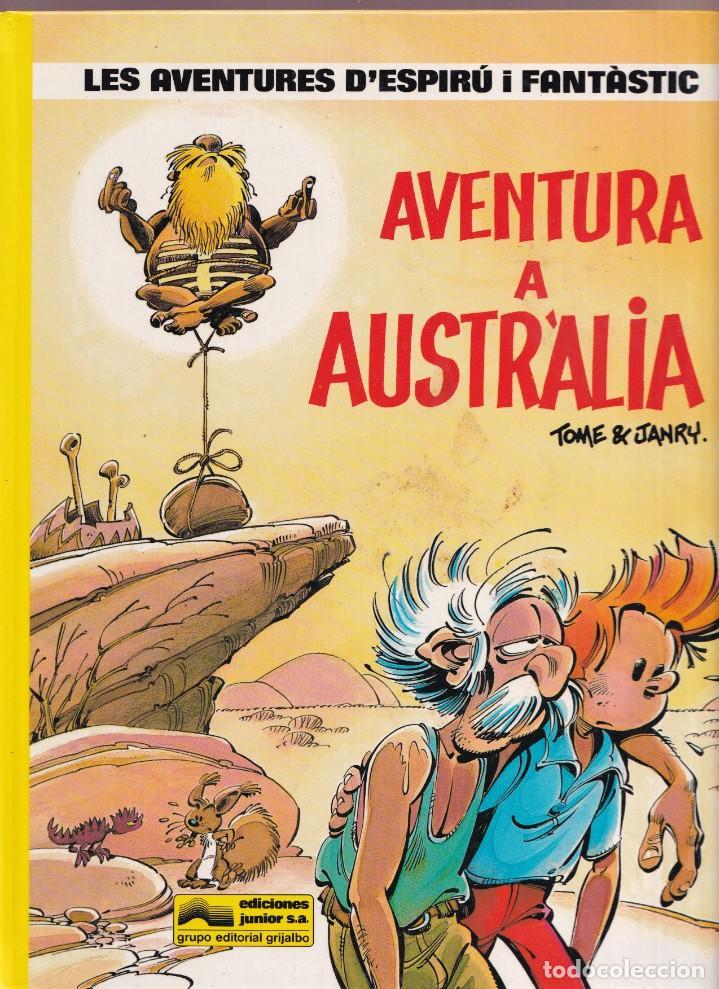 ESPIRU I FANTASTIC 20 - AVENTURA A AUSTRALIA - TOME I JANRY - ED. JUNIOR 1989 (Tebeos y Comics - Grijalbo - Spirou)