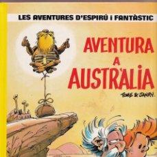 Cómics: ESPIRU I FANTASTIC 20 - AVENTURA A AUSTRALIA - TOME I JANRY - ED. JUNIOR 1989. Lote 251152045