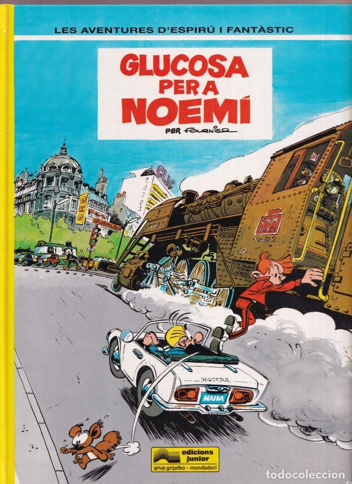 ESPIRU I FANTASTIC 34 - GLUCOSA PER A NOEMI - FOURNIER - ED. JUNIOR 1993 (Tebeos y Comics - Grijalbo - Spirou)