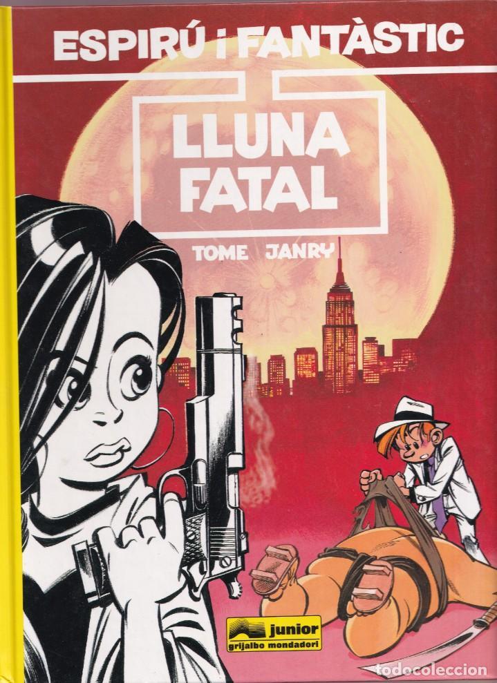 ESPIRU I FANTASTIC 43 - LLUNA FATAL - TOME I JANRY - ED. JUNIOR 1996 (Tebeos y Comics - Grijalbo - Spirou)