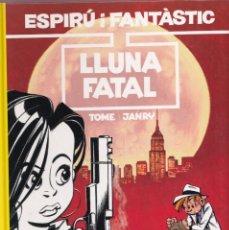 Cómics: ESPIRU I FANTASTIC 43 - LLUNA FATAL - TOME I JANRY - ED. JUNIOR 1996. Lote 251153765