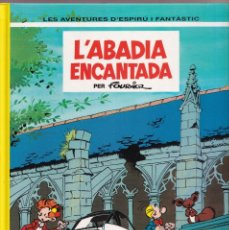 Fumetti: ESPIRU I FANTASTIC 35 - ABADIA ENCANTADA - FOURNIER - ED. JUNIOR 1994. Lote 251154640