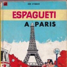 Cómics: ESPAGUETI A PARIS - 2 DINO ATTANASIO - COL. EPITOM - JAIMES LIBROS 1967. Lote 251156740