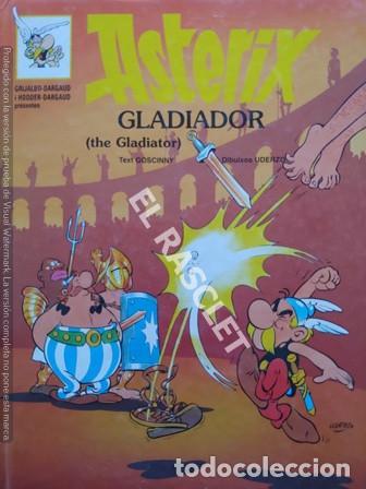 ASTERIX - GLADIADOR - EDITADO EN INGLES / CATALAN (Tebeos y Comics - Grijalbo - Asterix)