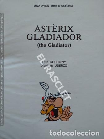 Cómics: ASTERIX - GLADIADOR - EDITADO EN INGLES / CATALAN - Foto 2 - 251396400